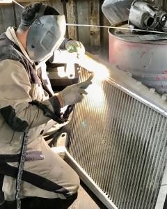 Сварка аргоном, ремонт радиаторов и топливных баков